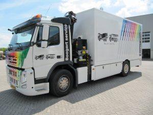 Boogert Service servicewagen