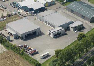 Boogert Service bedrijfspand te Nieuwerkerk, Zeeland, Nederland