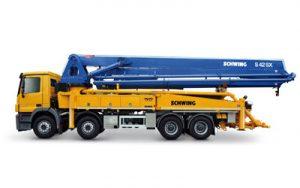 Betonpomp Schwing model S42SX