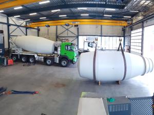 Boogert Service nieuwbouw van betonpompen, betonmixers en mixerpompen