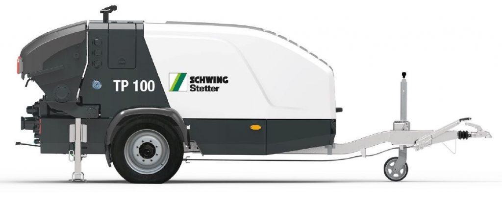 Schwing-Stetter stationaire betonpomp TP 100